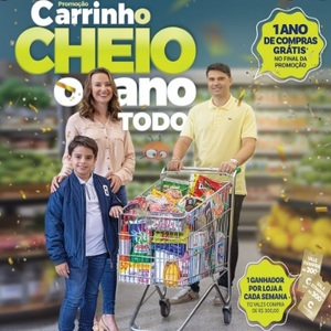 Promoção Covabra 2020 Carrinho Cheio Ano Todo - 12 Meses Compras Grátis