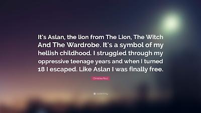 Aslan Lion Quotes