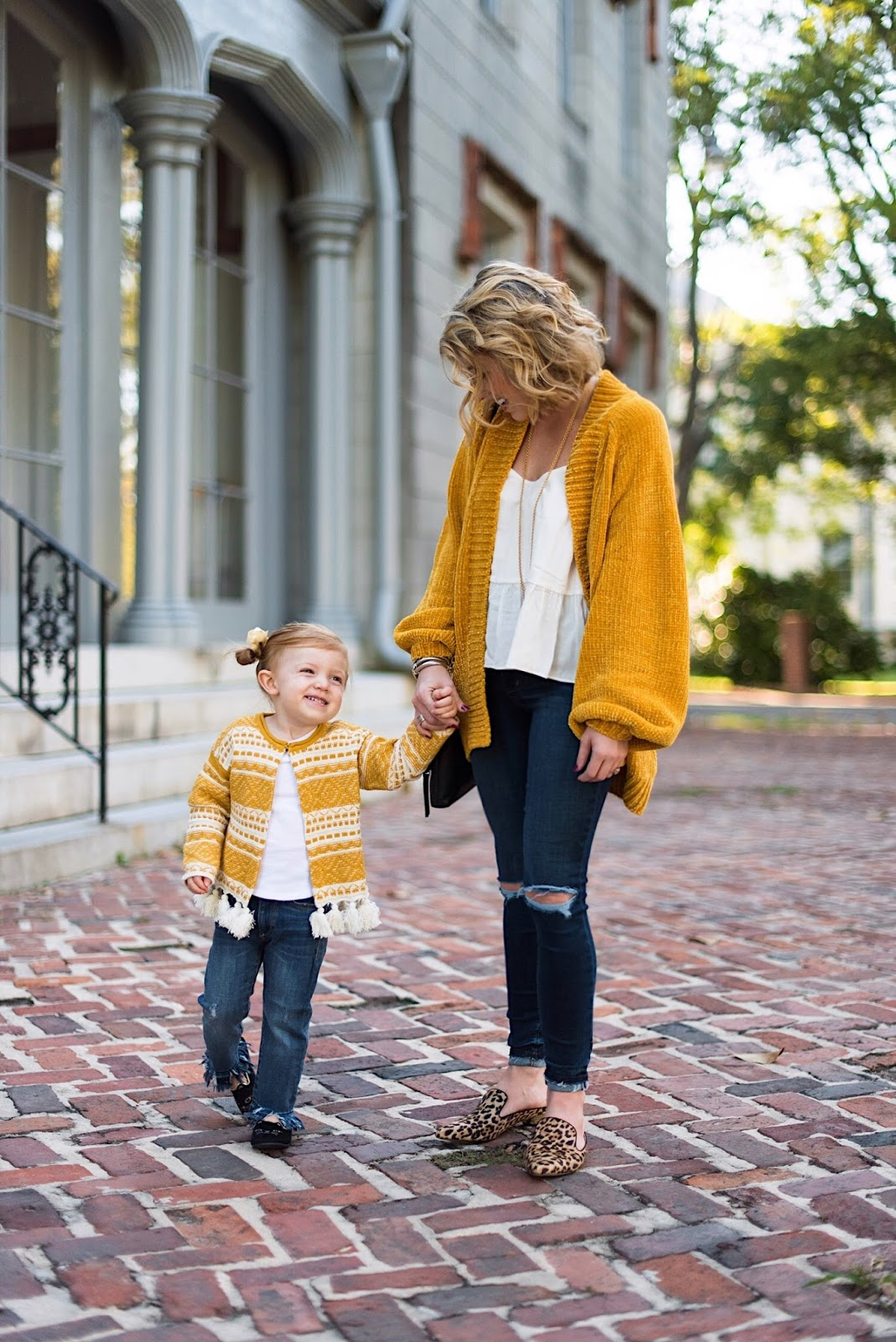 Mommy & Me Look for Fall - Something Delightful Blog
