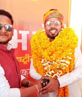 हिंदू एकता संगठन ने उतारा जिला पंचायत सदस्य के प्रत्याशी | #NayaSaberaNetwork