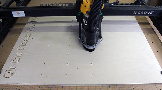 The Carmichael Workshop X-Carve CNC