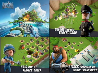 Boom Beach mod v24.170 : Unlimited Diamonds & Coins