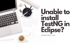 Unable to install TestNG in Eclipse