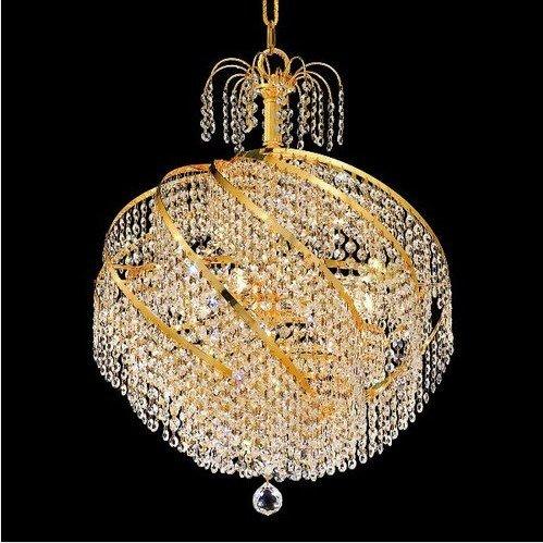 ثريا ذهبية مميزة ذات شكل ملكي كتوسطة الحجم 2020