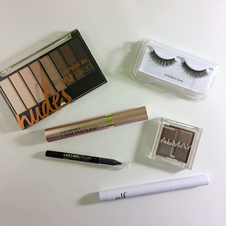 Walmart Beauty Favorites Box Time for Eyes products