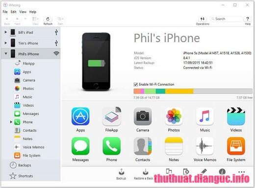 Download DigiDNA iMazing 2.9.9 Full Crack, phần mềm chuyển tập tin iPhone dành cho PC và Mac, DigiDNA iMazing, DigiDNA iMazing free download, DigiDNA iMazing full key