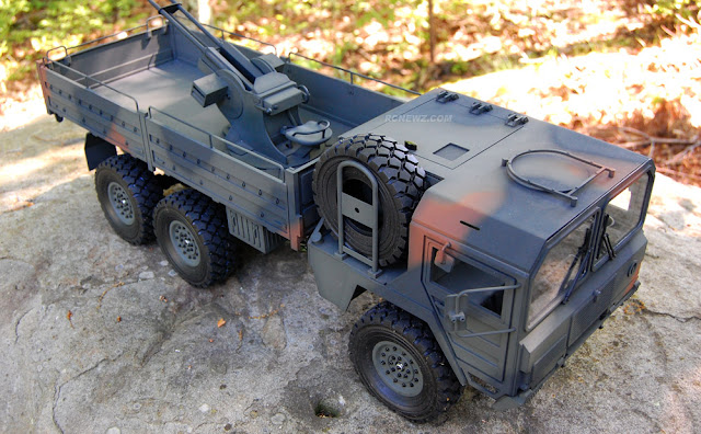RC4WD Beast 2 6x6 man kat