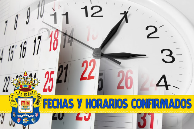 Calendario Ud Las Palmas.Calendario Fechas Y Horarios Proximas Jornadas Gradacurva Com