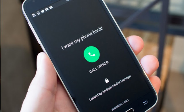 Cara Mereset Password Lock Screen Dengan bantuan Android Device Manager