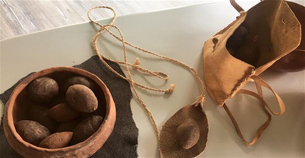 Ancient slingshot stones 'were aerodynamic,' dig reveals
