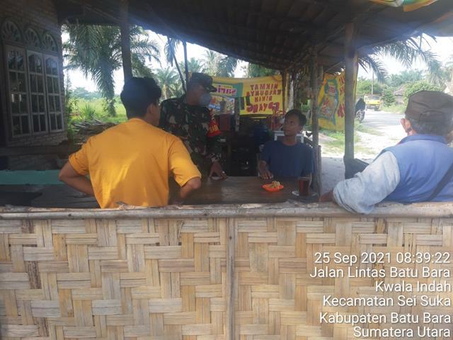 Dengan Cara Komsos Personel Jajaran Kodim 0208/Asahan Eratkan Silaturahmi Dengan Warga Binaan