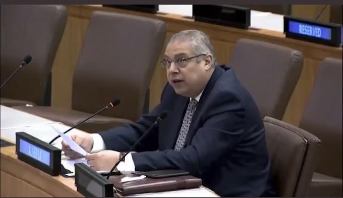 """الجزائر : """"ضمان حق تقرير المصير للشعب الصحراوي وإنهاء الإحتلال المغربي للصحراء الغريبة يتطلب إرادة حقيقة من الأمم المتحدة""""."""
