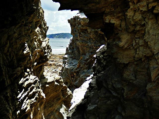 Spit Beach Cliffs, Cornwall