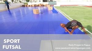 √ Kontraktor Lapangan Futsal Papua Paket Komplit 1 Lantai Lapangan