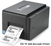 Free Barcode Label Printing Software for Food, Clothing, Jewelry and others with Barcode Label Printer TSC TE244 with Live Video