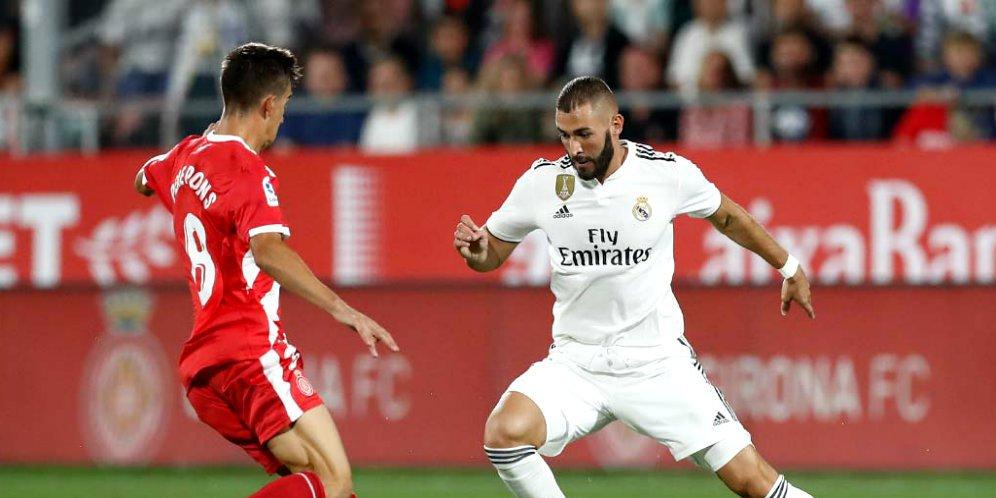 Hasil Skor Pertandingan Girona vs Real Madrid: Skor 1-4