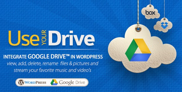 Use-your-Drive Google Drive - WordPress Plugin