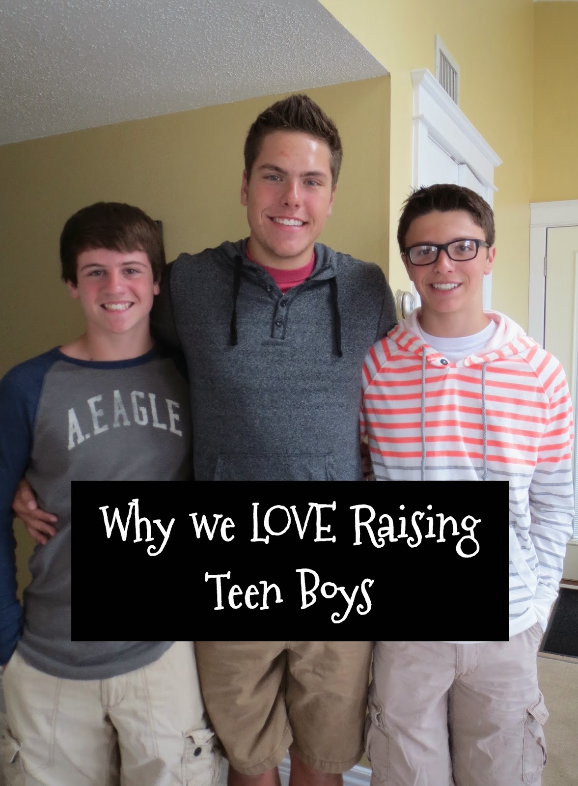 Yes, we wished for a princess in the family mix, but ya know what? We're  okay with it. In fact, we LOVE raising boys, ...