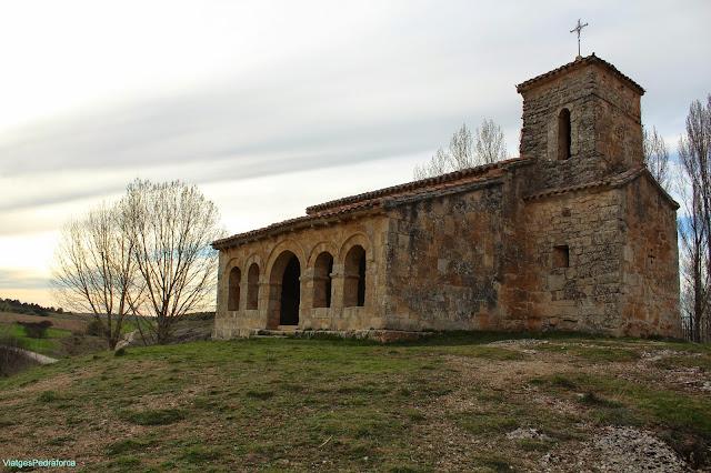 Ermita de Santa Cecilia, Barriosuso, Santibáñez del Val, Burgos, Castilla y León