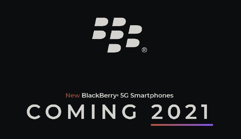 Blackberry to release 5G smartphones in 2021