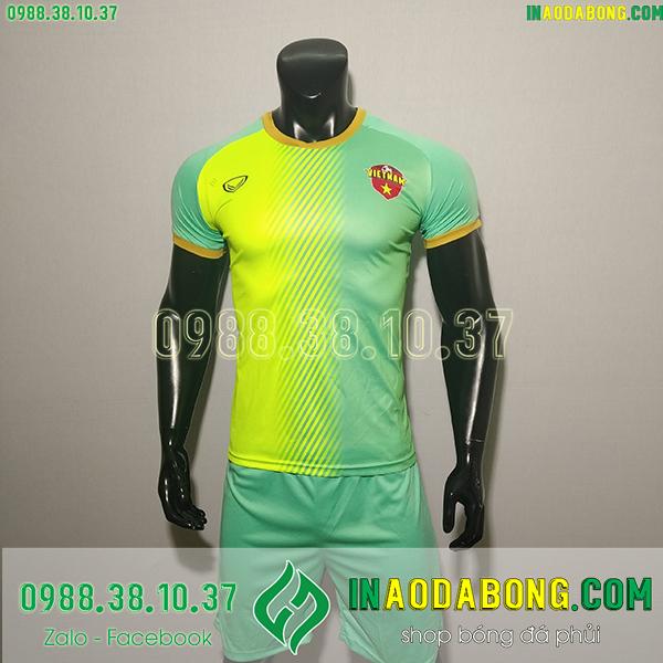Áo bóng đá đội tuyển Việt Nam fifa xanh