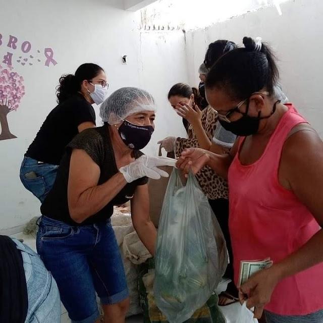 Mais de mil famílias são beneficiadas com entrega de alimentos em Patos