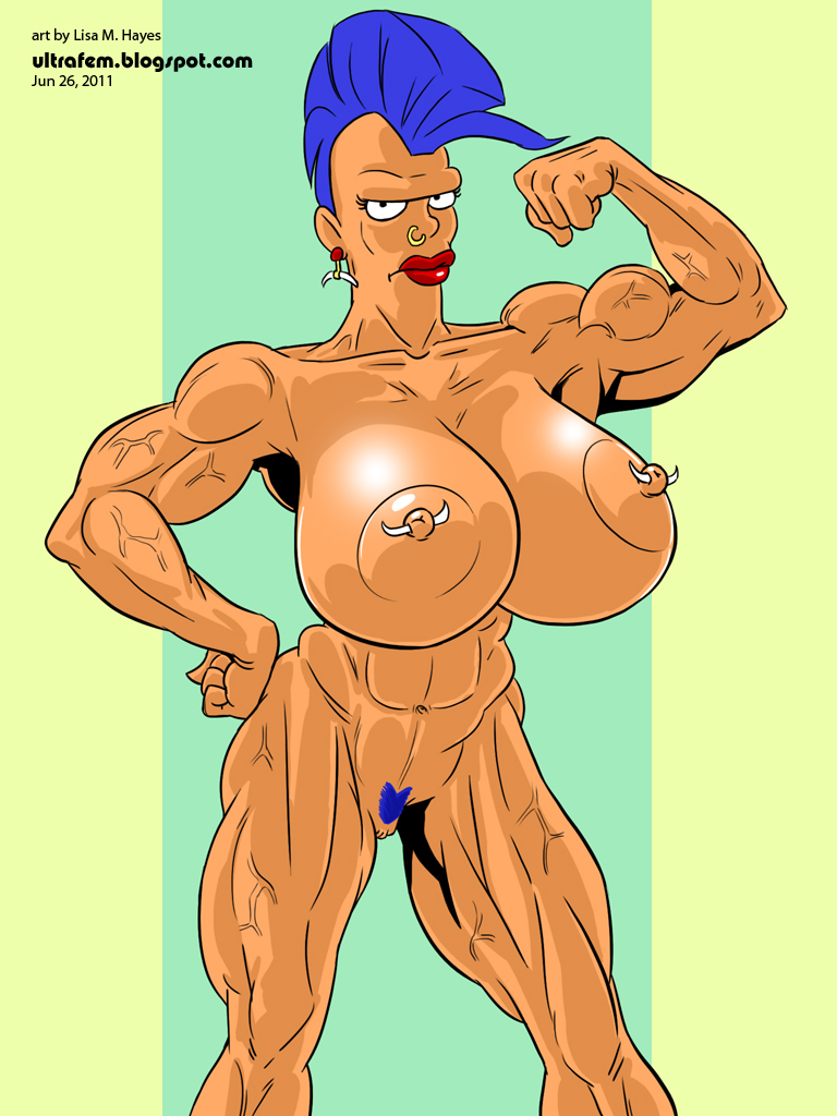 Women of futurama naked can