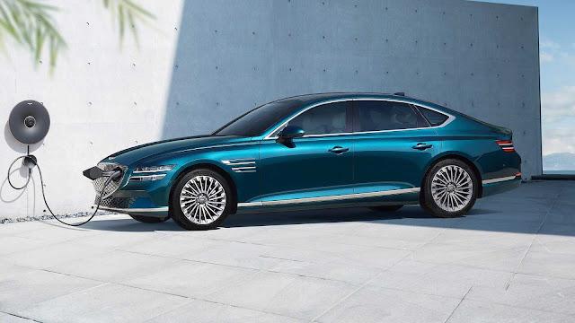 تدخل جينيسيس عصر السيارات الكهربائية مع G80 التي تتميز بسقف شمسي