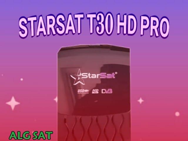 تعرف على مواصفات الجهاز ستارسات STARSAT T30 HD PRO