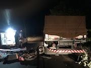 Lima Campos: Motociclista colide com traseira de caminhão parado na pista.