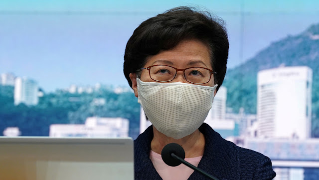 EE.UU. impone sanciones contra Carrie Lam, la jefa ejecutiva de Hong Kong, y varios funcionarios chinos