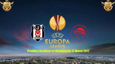 AGEN BOLA - Prediksi Besiktas vs Olympiacos 17 Maret 2017