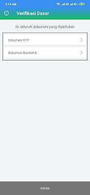 Verifikasi KTP di Aplikasi Payfazz