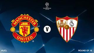 Manchester United Hadapi Sevilla di Babak 16 Besar Liga Champions