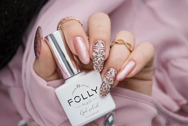 Paznokcie w kwiatki | FollyNail