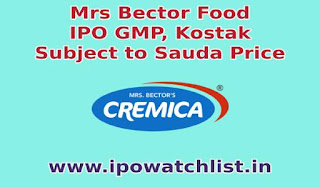 mrs-bector-ipo-gmp