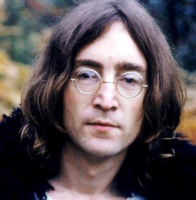 Foto de John Lennon a colores