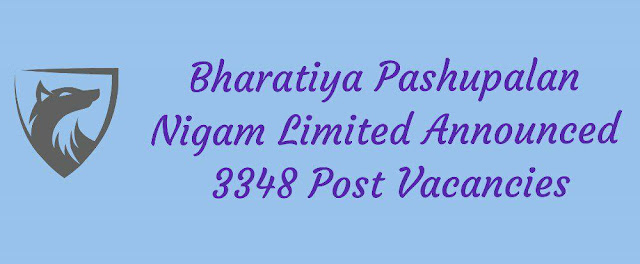 BPNL Recruitment 2002 Apply Online - 3348 Post Vacancy (Any Qualification Can Apply)