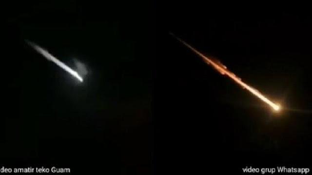 HEBOH! Meteor Jatuh di Surabaya, Ini Penjelasan LAPAN