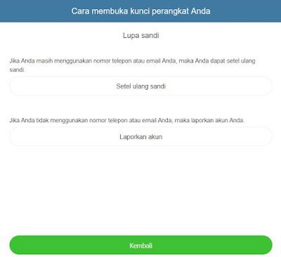 Cara Mengatasi Lupa Password Akun Mi Cloud 3