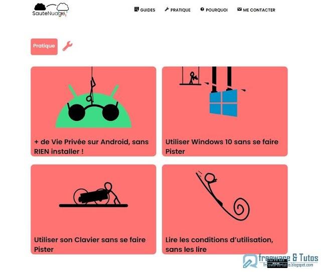 Le site du jour : SauteNuage.com