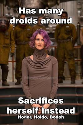star wars 8 last jedi admiral holdo meme
