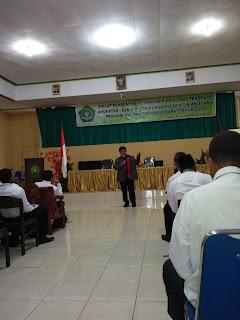 Diklat Pembentukan Jabatan Fungsional Penghulu Angkatan I dan II di Lingkungan Kementerian Agama Provinsi Maluku.