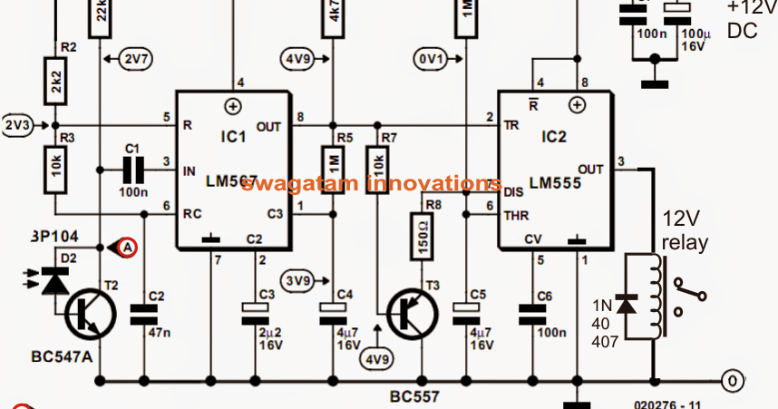 Model Locomotive Infrared Controller Circuit ~ Electronic