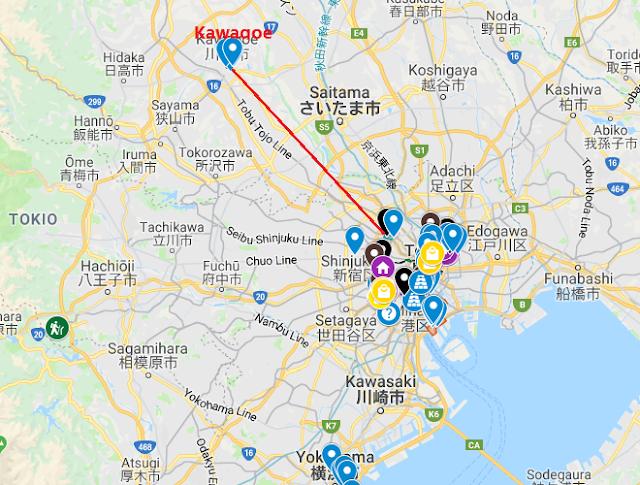 kawagoe, tokio, japón