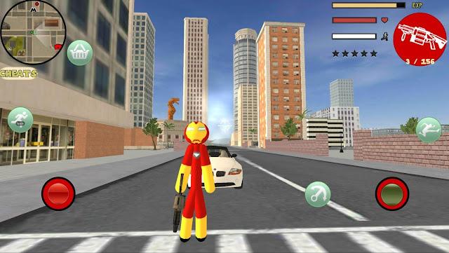 Download Stickman Rope Hero Mod Apk