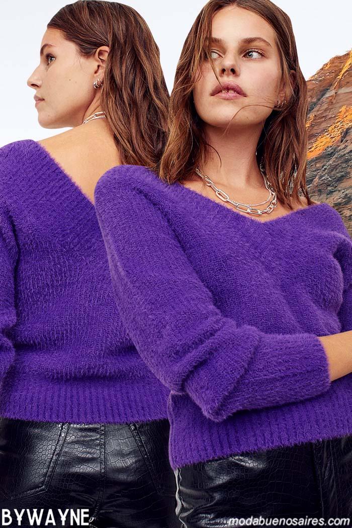 Sweaters invierno 2021 mujer moda