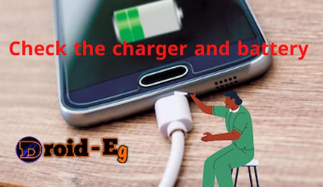 Check the charging and battery for the phone.
