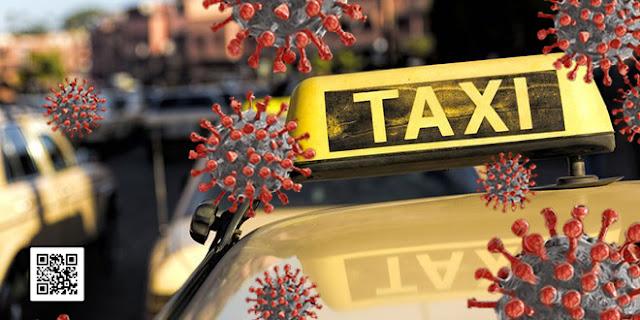 غريب... السلطات تضبط سائق سيارة أجرة يخضع للعلاج من كورونا بمنزله متلبسا بنقل الزبناء !