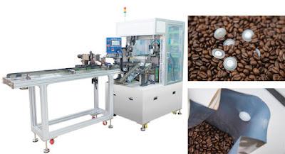 jasa pasang valve kemasan kopi pakai mesin